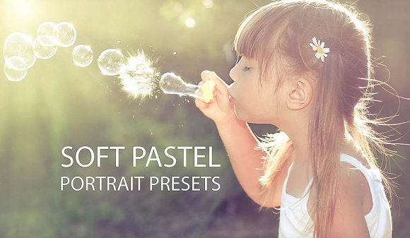 Soft Pastel Portrait Preset-Graphicriver中文最全的素材分享平台