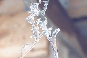 Amazing icicle