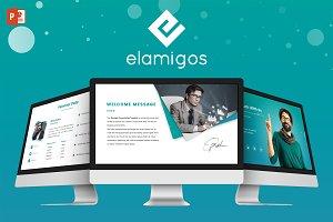 Elamigos - Powerpoint Template
