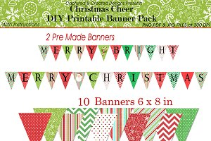 Christmas Cheer Banner Pack