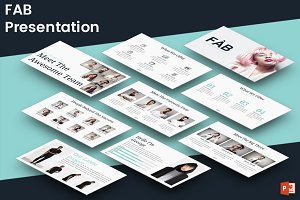 FAB - Powerpoint Template