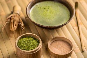 Green tea, matcha