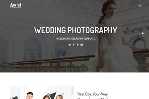 Aerial-Wedding Photography Template