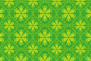 Christmas Green Pattern