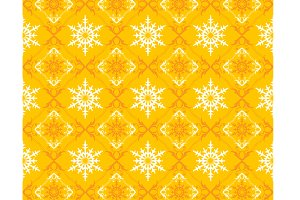 Christmas Yellow Pattern
