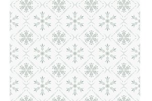 Christmas white pattern