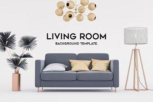 Living room decoration.