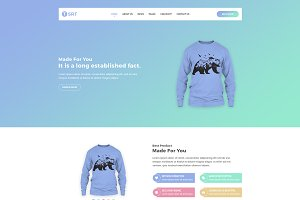 Tsrt - Single Product HTML Template