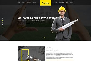 Erctor – Architect HTML Template