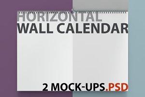 2 Calendar mockups