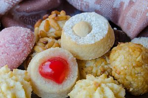 Panellets, typical Catalan sweets