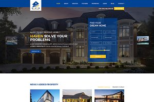 Haven – Real Estate HTML Template