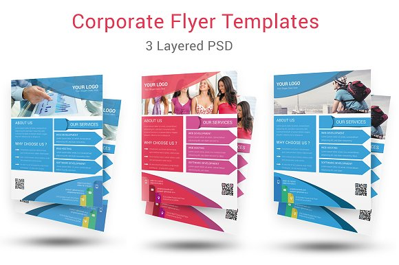 Corporate Flyer Template Flyer Templates Creative Market