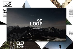 Loop Powerpoint Template