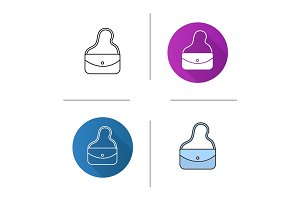 Women's handbag icon