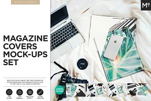 Magazine Covers Mock-ups Set