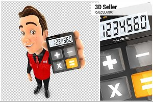 3D Seller Holding Calculator