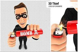 3D Thief Lighting Dynamite