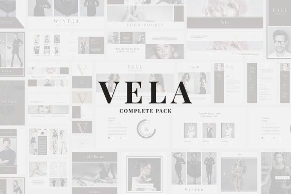 Vela Complete Pack in Presentation Templates