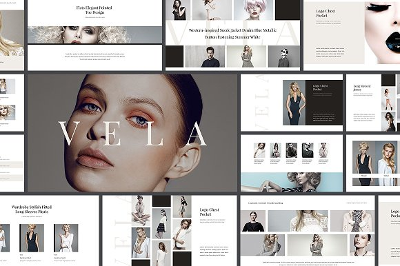 Vela Complete Pack in Presentation Templates - product preview 1