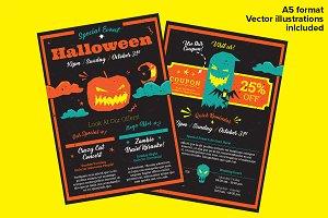 Halloween – A5 Flyer
