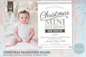 IC053 Christmas Marketing Board