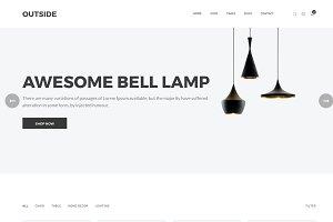 Outside–Minimalist eCommerce HTML