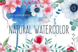 Natural watercolor