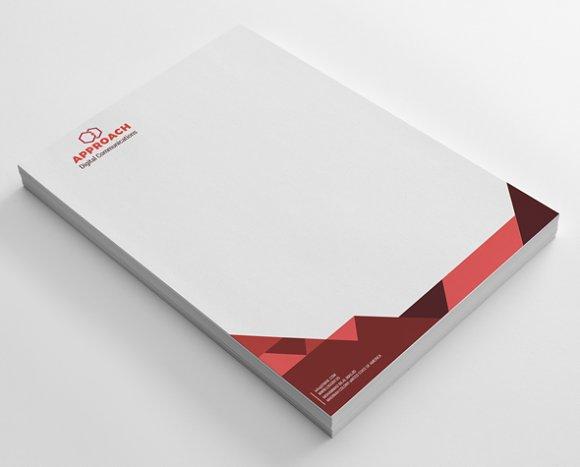 Approach Business Letterhead