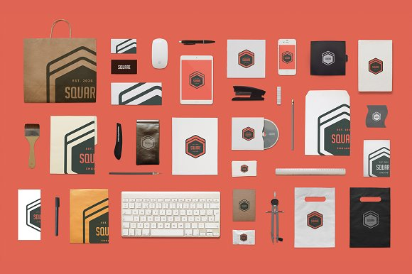 Branding Mock Up Stationery Product Mockups Creative Market