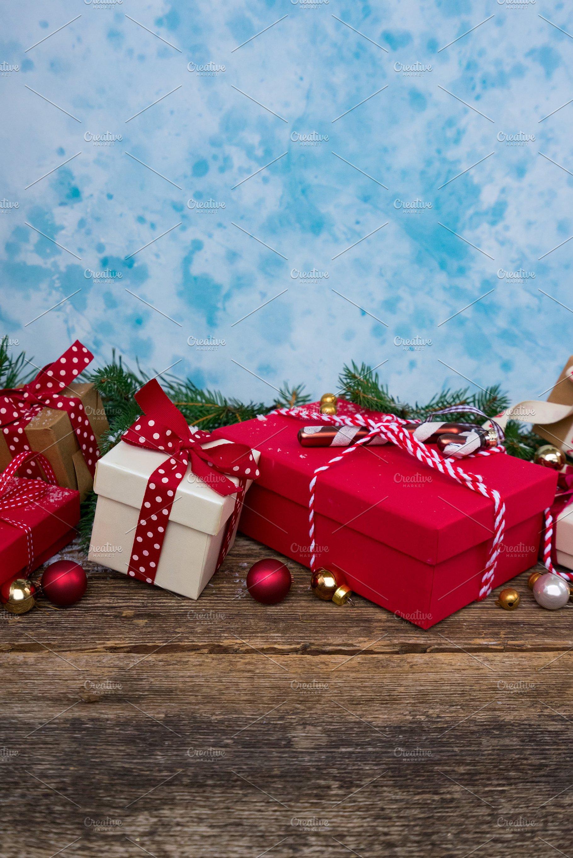 Christmas Gift Giving Images.Christmas Gift Giving Holiday Photos Creative Market