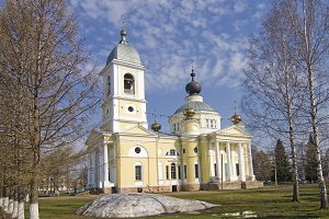 Assumption Cathedral in Myshkin.