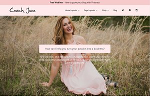 Wordpress Theme - Coach June