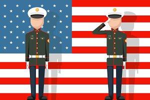 American military veteran