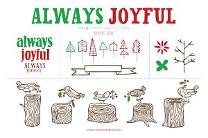Always Joyful (Vector)