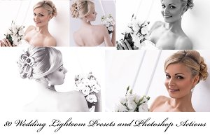 80 Wedding Presets and Actions
