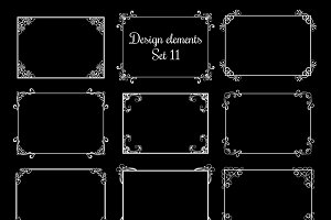 Decorative ornamental frames