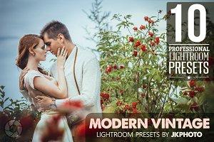 10 Modern Vintage Lightroom Presets