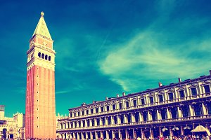 San Marco campanile, bell tower
