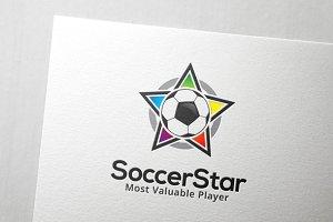 Soccer Star Logo