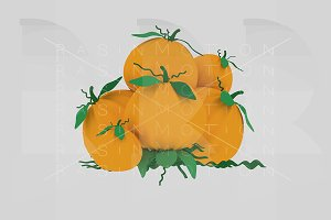 A pumpkin heap