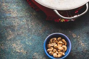 Indian cuisine ingredients