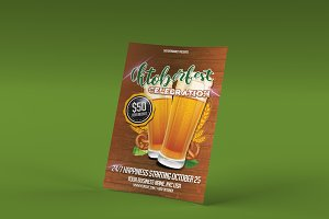 Oktoberfest Celebration PSD Flyer