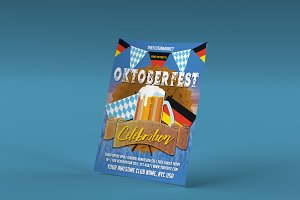 Oktoberfest Celebration PSD Flyer 2