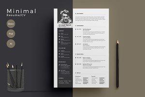Minimal Cv-Resume