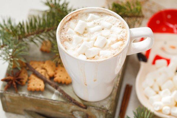 Christmas hot cocoa