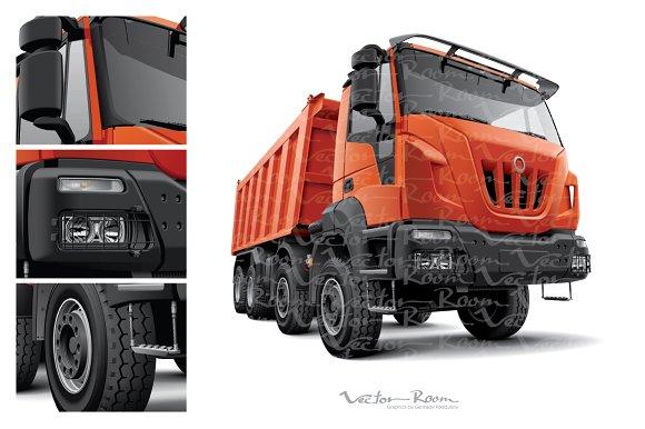 Heavy Construction Truck