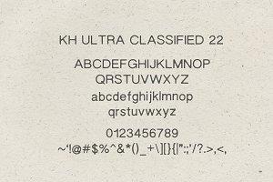 KH ULTRA CLASSIFIED 22