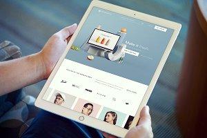 iPad Pro Mockups v4