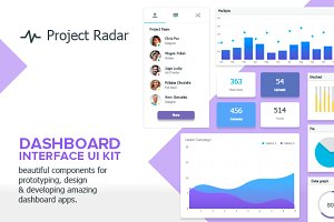 Professional Dashboard UI Kit